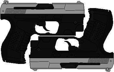 Selene's Walther P99s (Underworld) by Hybrid55555
