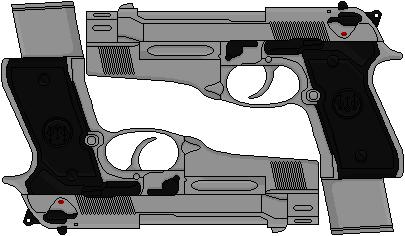 Selene's Custom Beretta 92FS Inox (Underworld) by Hybrid55555