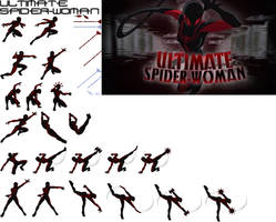 Ultimate Spider-Woman by Hybrid55555
