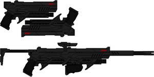 Red Hood's Pistols (Arkhamverse)