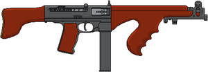 Enfield-Sten And Lewis M-59