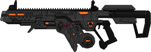 Plasma Rifle Prototype by Hybrid55555
