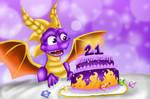 Happy 21st birthday Spyro
