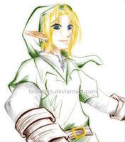 Link Sketch by tallydraws