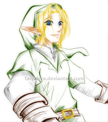 Link Sketch by tallydraws