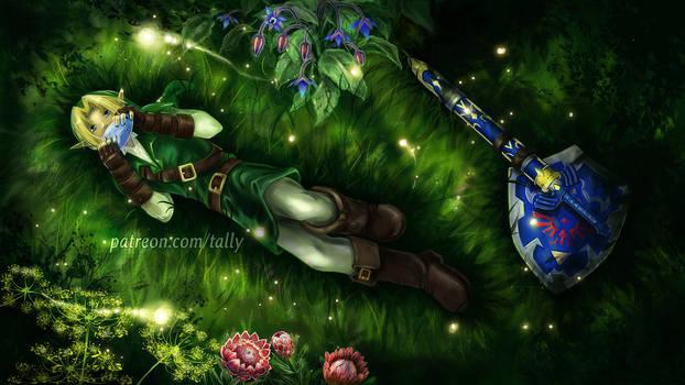 Minuet of Forest - Wallpaper