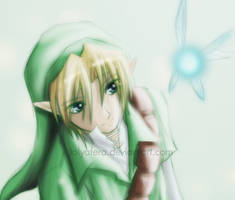 Link - Fairy Boy by tallydraws