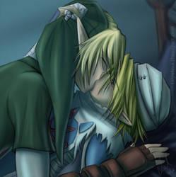 Link x Sheik by tallydraws