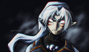 Fierce Deity Link by tallydraws