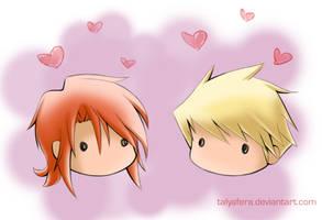 Guy x Luke Chibi Love by tallydraws
