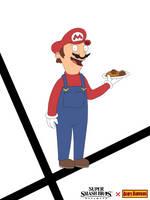 Bob's Burgers-styled Mario