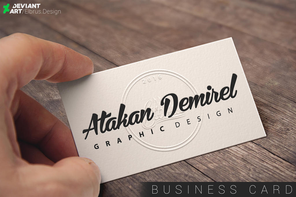 Elbrus GRAPHIC DESIGN / Business Card by ElbrusDesign on DeviantArt