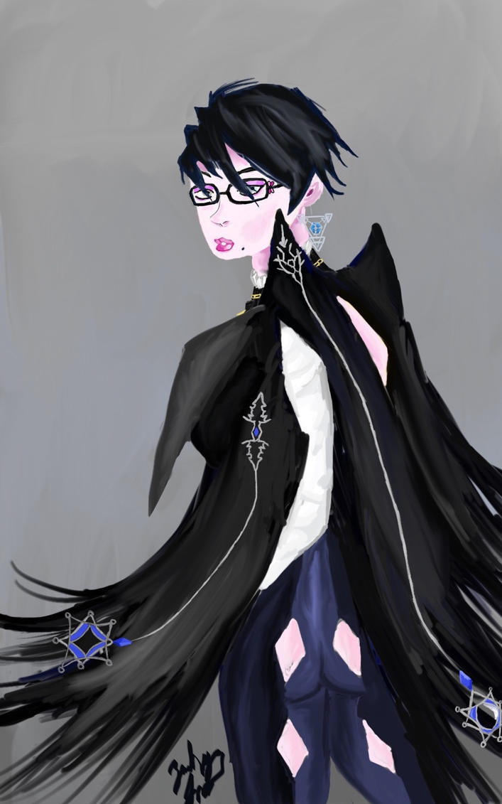Bayonetta 2 Painting by TheArkhamSage