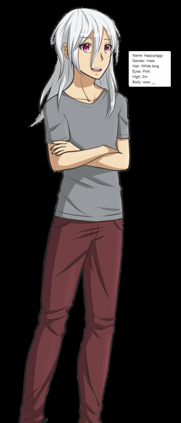 Anime happypiggy by happypiggy
