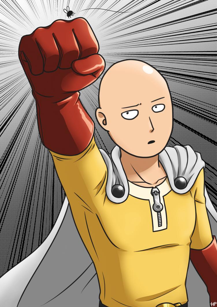 One Punch Man - Saitama by happypiggy