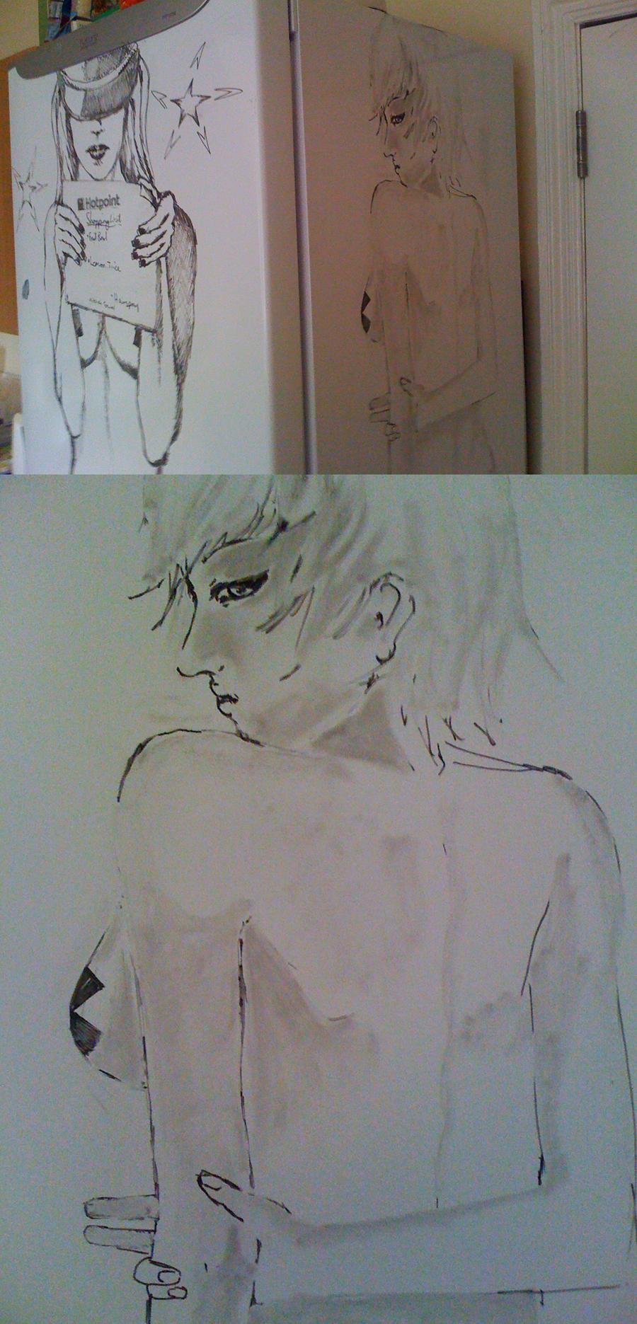 Fridge drawings by Phantasya
