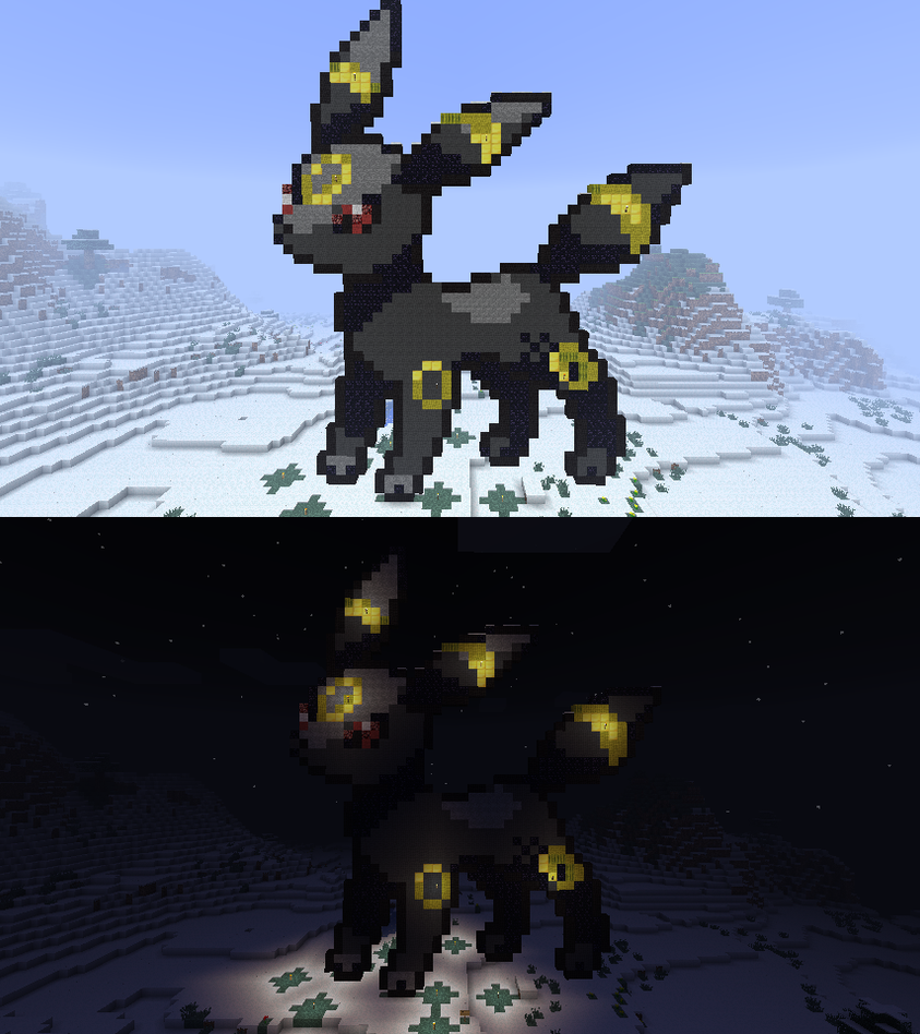 Umbreon Sprite  Day and Night Screenshots by HydraTheEeveeUmbreon Sprite
