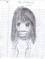 The mouthless girl