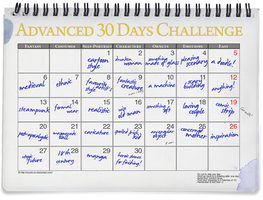 Advanced 30 Days Challenge