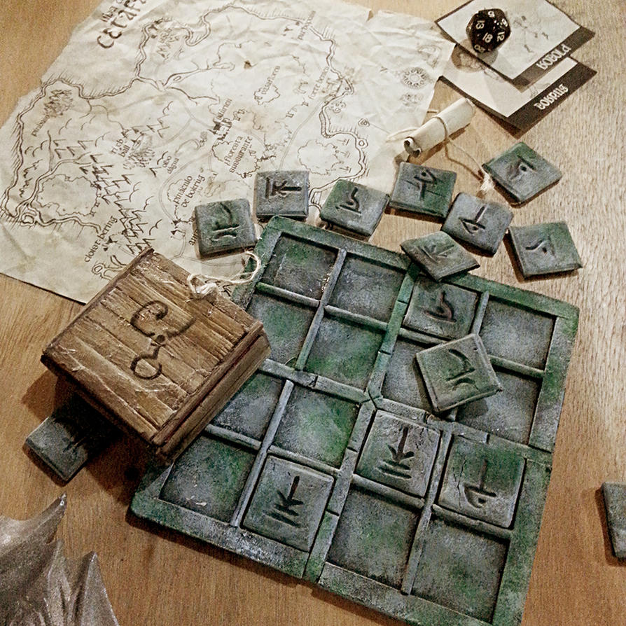 Dungeons And Runes By Ryoshi Un On Deviantart