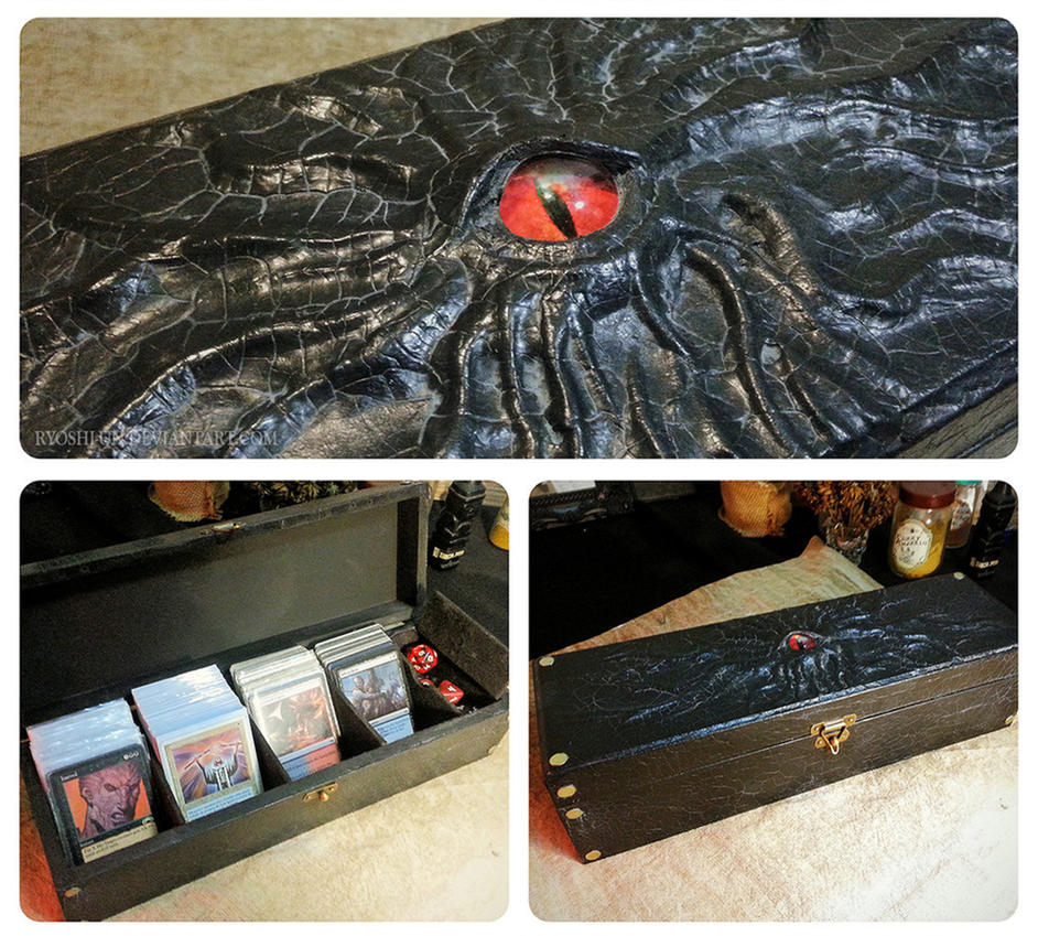 Quad-Deck MTG box by ryoshi-un