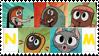 Main character stamp by Na-manga-full-zipzip