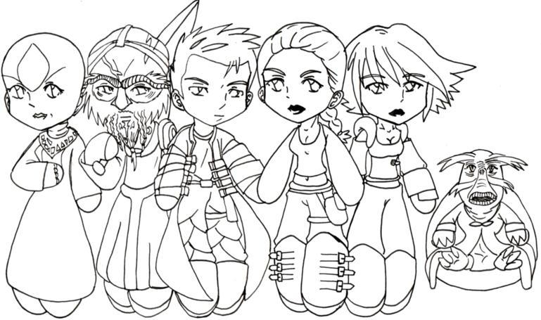 Farscape Chibis by Farscape-Club