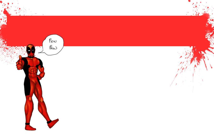 Deadpool wallpaper by NeJI483 on DeviantArt