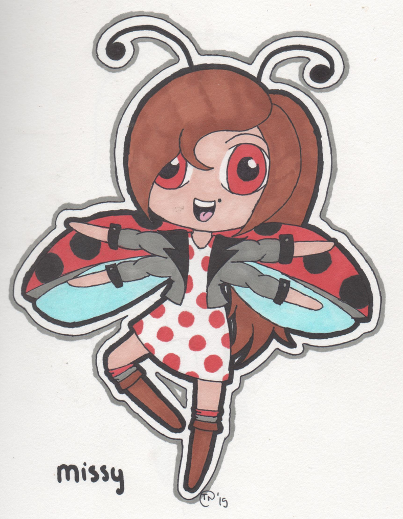 Ladybug by Jellyfish-Magician