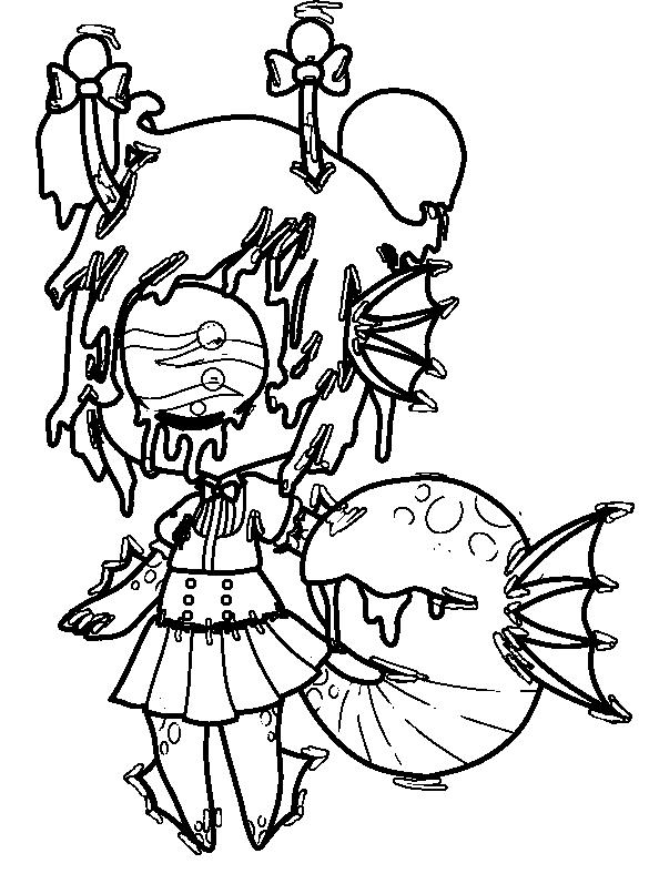 Valtameri lineart by Jellyfish-Magician