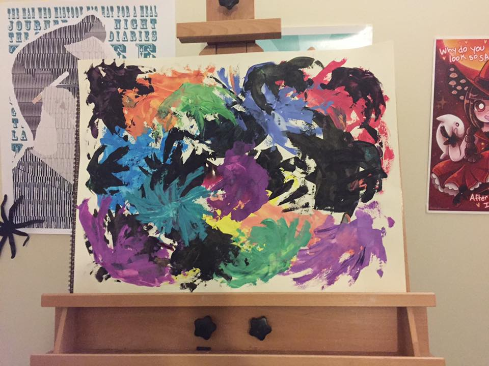 Palette Knife Cleaning by Jellyfish-Magician