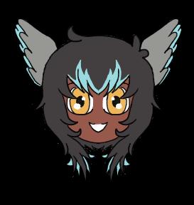 Icarus Chibi Headshot by Jellyfish-Magician