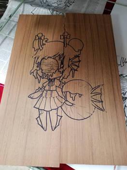 valtameri wood print