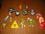 Perler Bead Art - Zelda2