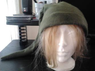 Link Hat Front by darkblack333
