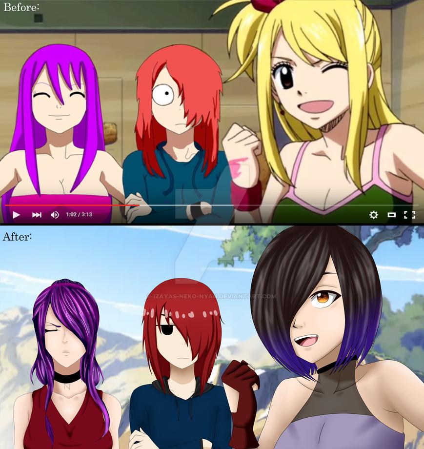 Before and After Colab by Izayas-Neko-nyan