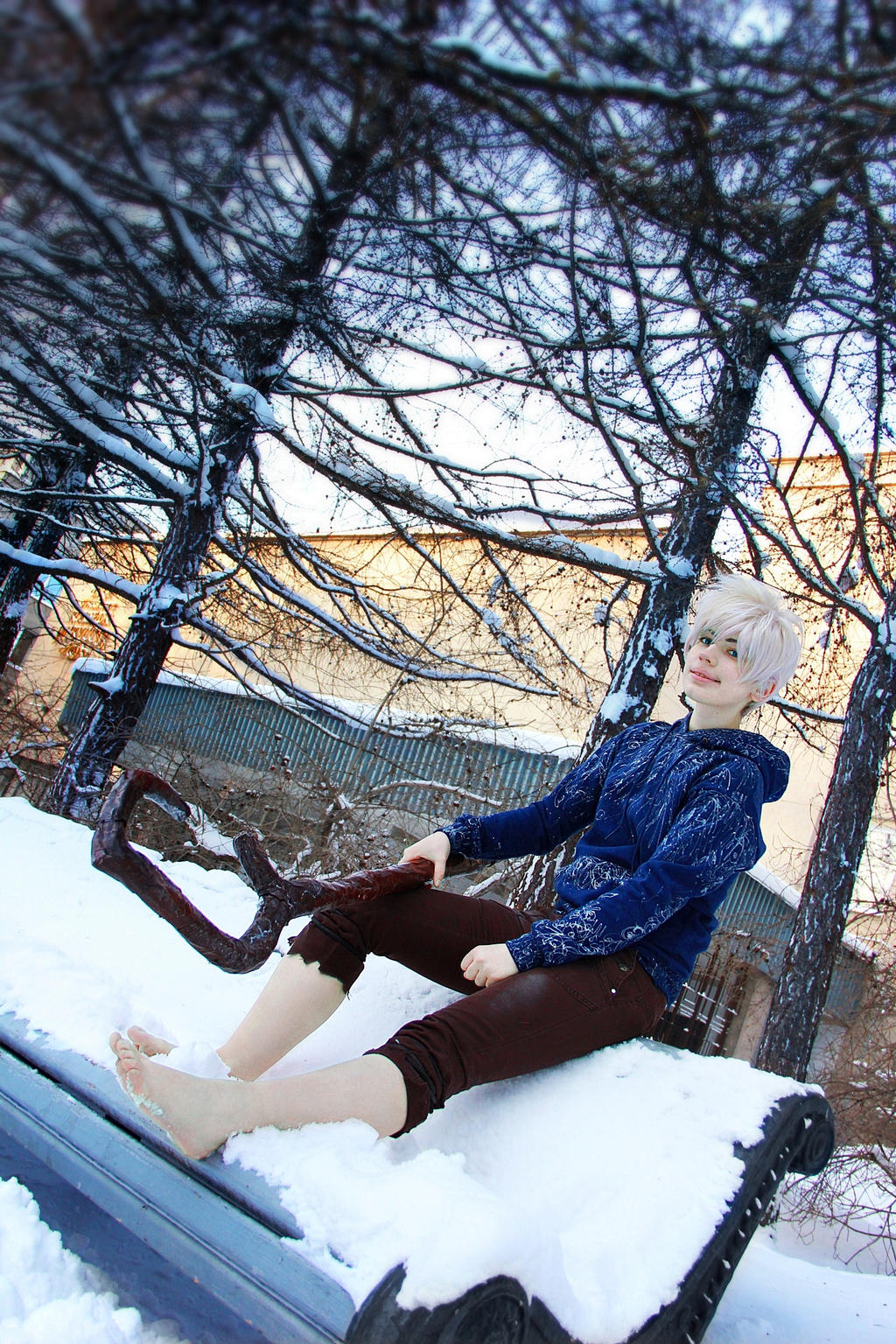 Jack Frost- Rise of the Guardians by Seliverstova