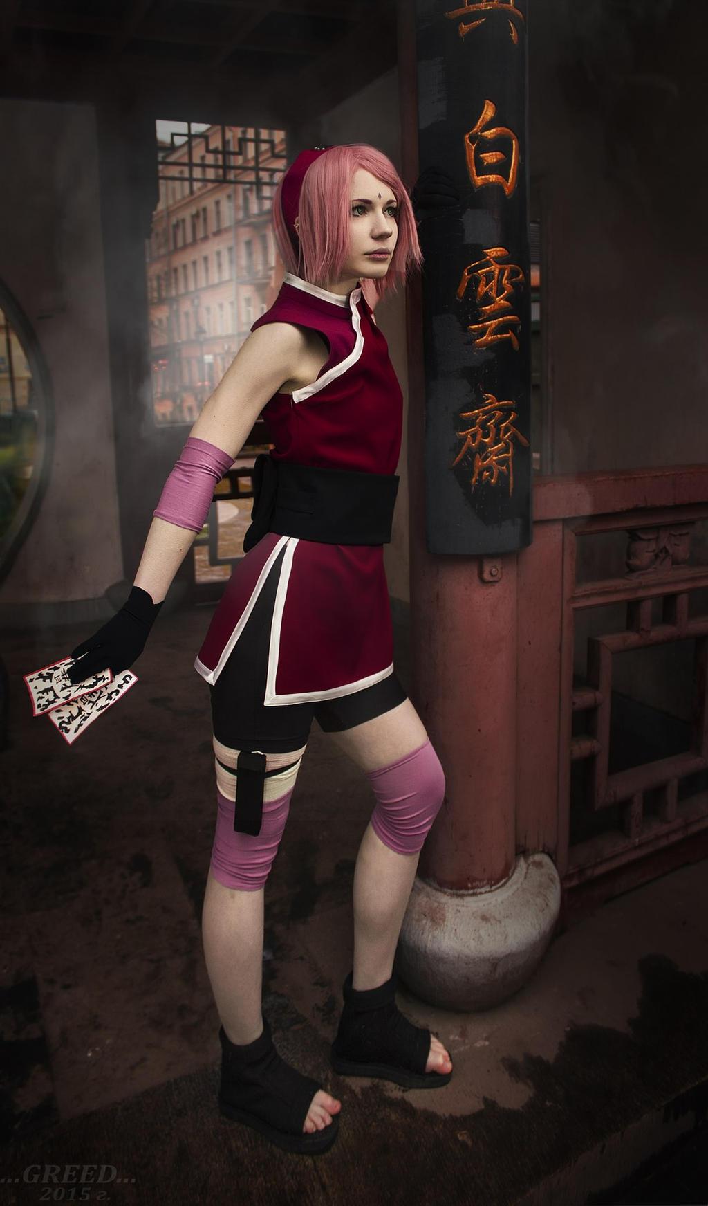 Sakura haruno the last cosplay
