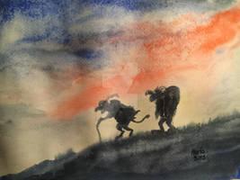 Gryla og leppaludi koma til byggda,2018