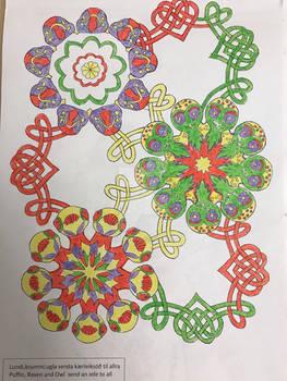 Fugla mandala, Doodle Days