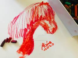 Horse sketch,2020