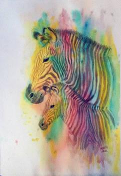 Mother's Day 2021, Zebra