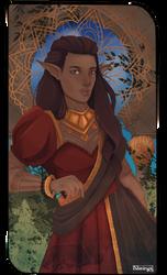 Druidess Card