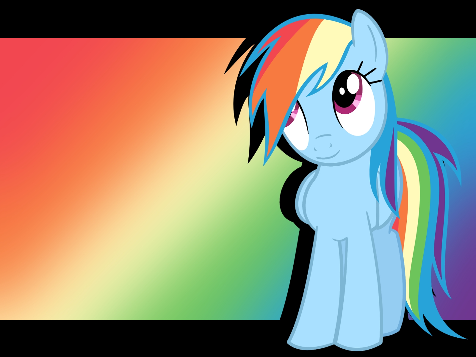 Rainbow Dash Wallpaper By Plumpig