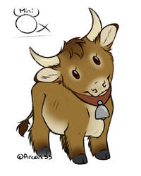 [Practice] Mini Ox by Plumpig