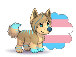 [YCH] Pride -Jenna-snow- by Plumpig