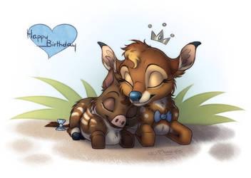 [Gift] Sleeping Besties by Plumpig