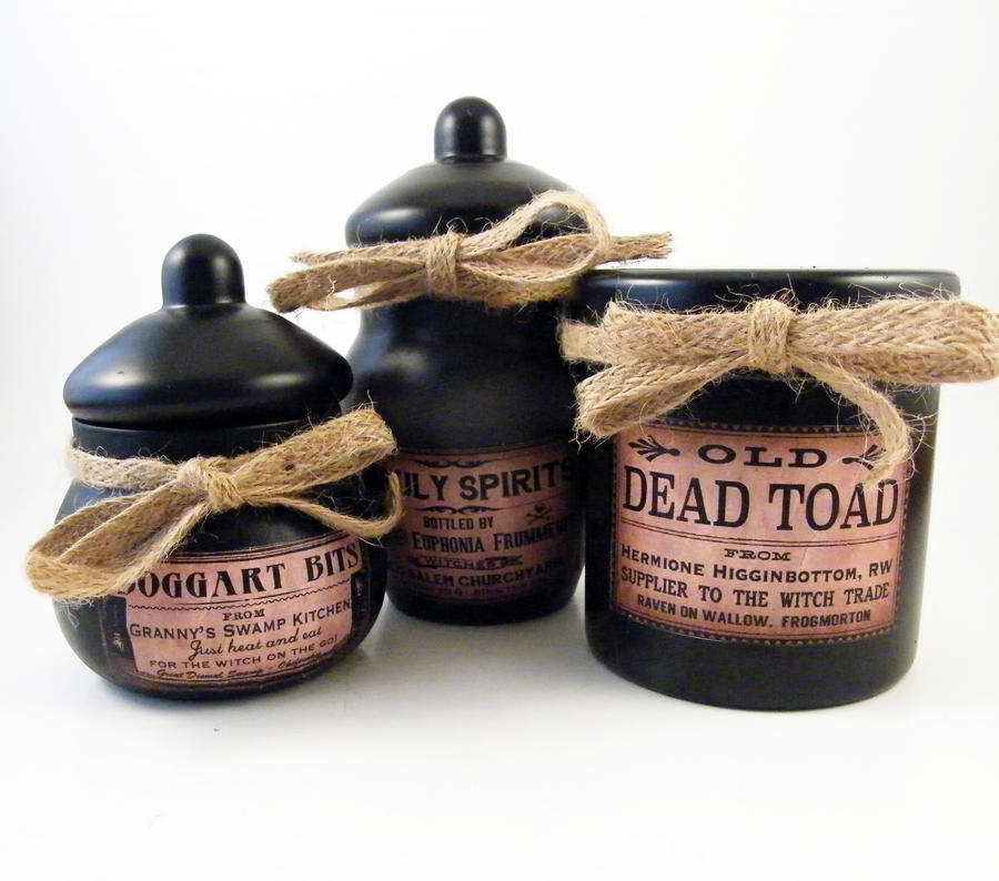 Apothecary Jar Set by Dynamicalley