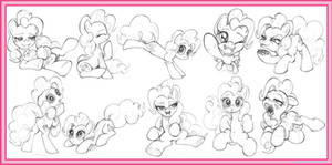 10 Pinkie Pie Sketches