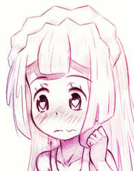 Captivated Lillie by Uminanimu